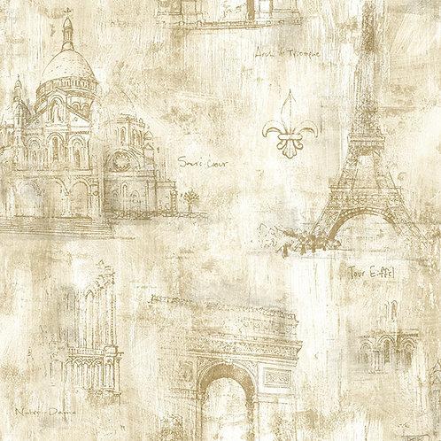 ОБОИ «PARIS» ОТ STUDIO 465    71805 RS