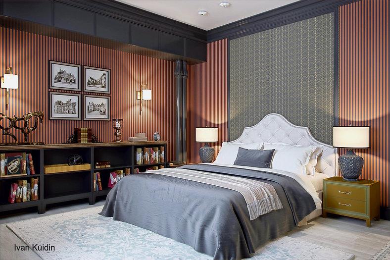Дизайн проект гостевой комнаты