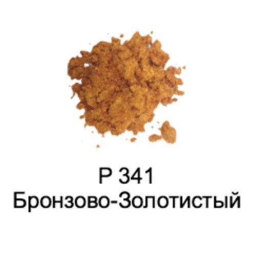Слюда Жемчужная Р341 Бронзово-Золотистая 0,1л