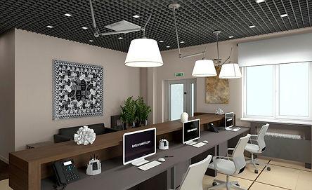 дизайн интерьера офисного помещения в абакане