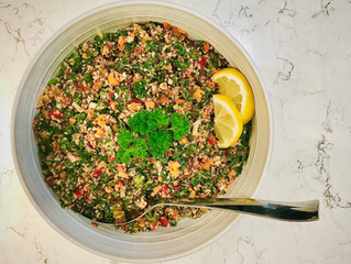 Food Essentials: Quinoa Taboulleh Salad