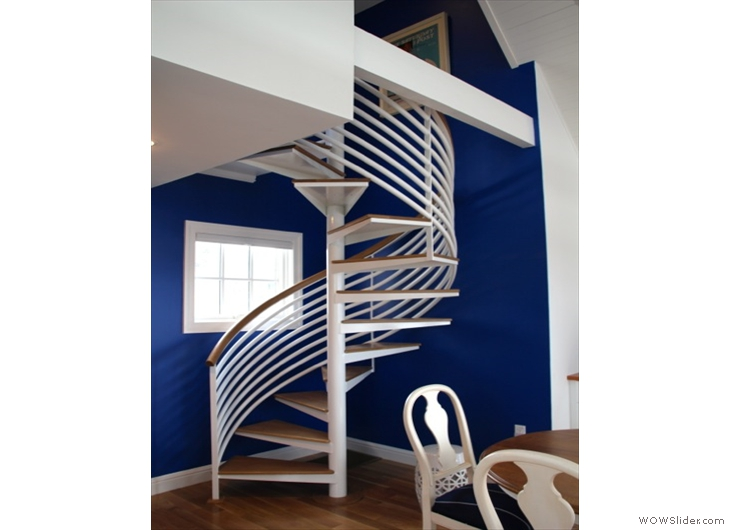 Curved Handrail in Place
