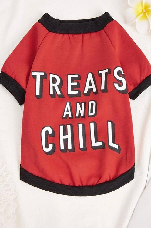 Treats & Chill tee