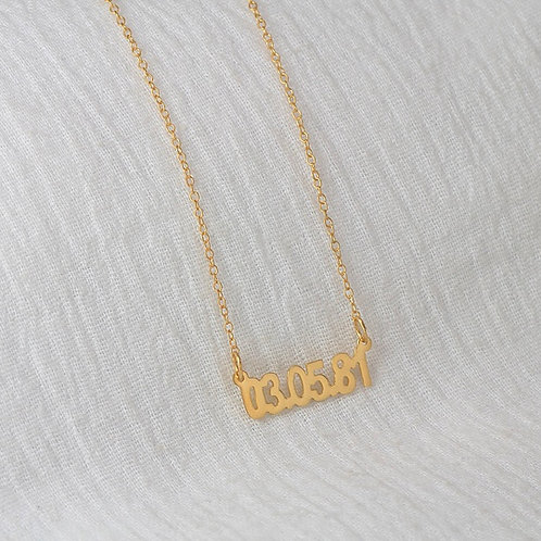 """Personalized """"Anniversary"""" Necklace"""