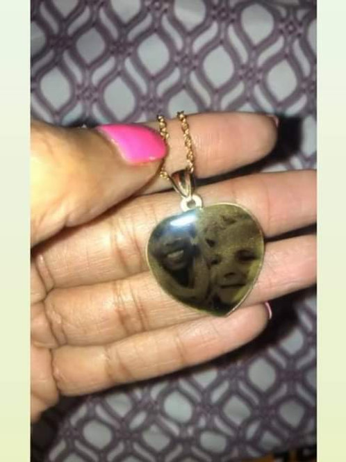 Personalized Portrait Pendant