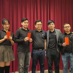 Master Trainer Andy and his Mentees Andy老師和徒弟們合照