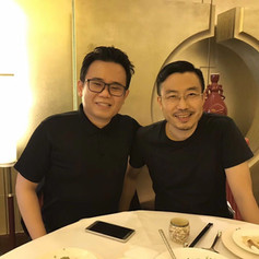 With Ex-Amazon China VP, Peter Zhang 和亞馬遜前副總裁,張思宏
