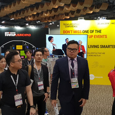 VIP Tour in Global Source Hong Kong Exhibition 香港環球資源VIP帶領