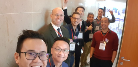 With the Speakers at East Meet West Conference Taiwan 2019