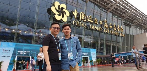 Visit to China Export and Import Fair (Canton Fair) with Coach Hans