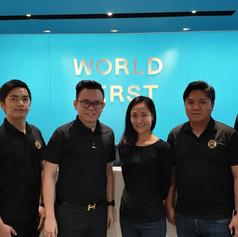 Visit to World First in Hong Kong 拜訪香港World First辦公室