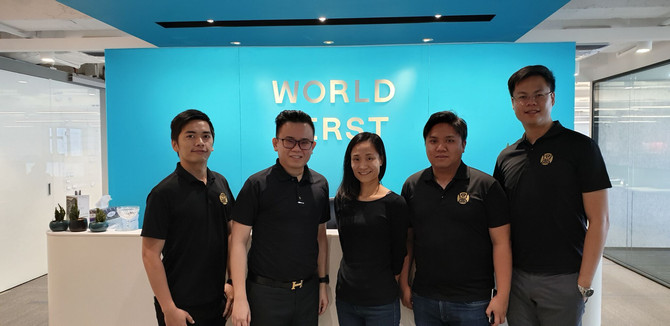 Visit to World First in Hong Kong
