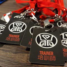 Trainers Nametag 培訓師名簽