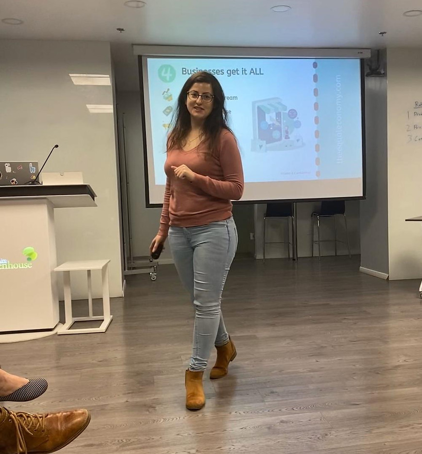 Pitching EQUAL at Deloitte