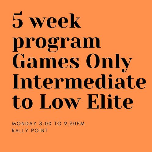 Monday Intermediate 8:00-9:30pm Rally Point