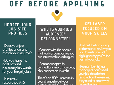 3 Resume and Job Search Strategies to use Before you Apply!