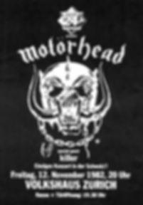 Killer Zurich with Motörhead