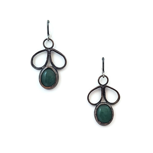 Aventurine Beri Earrings