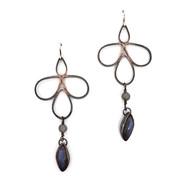 Water Spirit Pipetal Earrings, labradori