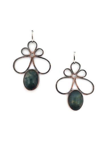 Mossy Agate Pipetal Earrings.jpg