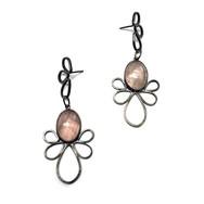 Rose Quartz Pipetal Earrings2.jpg