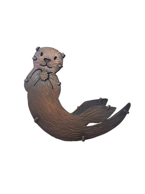 Sea Otter Brooch