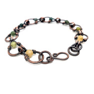 woodland fairy chain bracelet2.jpg