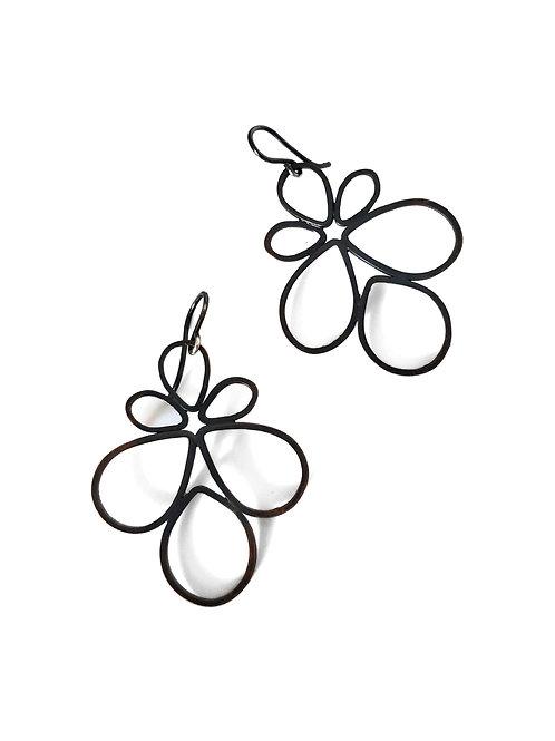 Pipe Petal Earrings