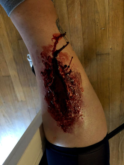 Trapped Gore Makeup
