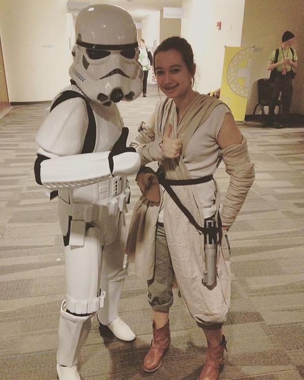 I met a stormtrooper yesterday!_#ohayoco