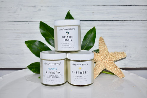 Beaches Candle Trio