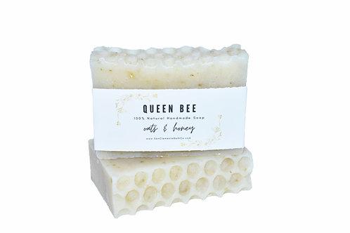 Queen Bee Soap: Oats & Honey