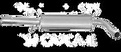 Audi A3 8L Exhaust Rear Silencer