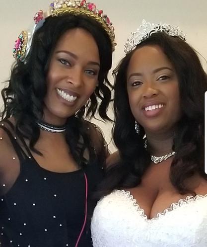 Wedding Reception at Brookside Garden