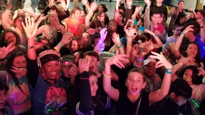 Glow Party with Longfellow Middle School