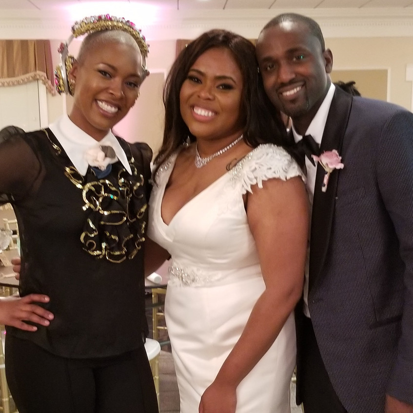Wroyal and Mr and Mrs Pope