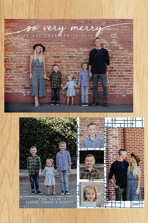 Happy Family Holiday Card