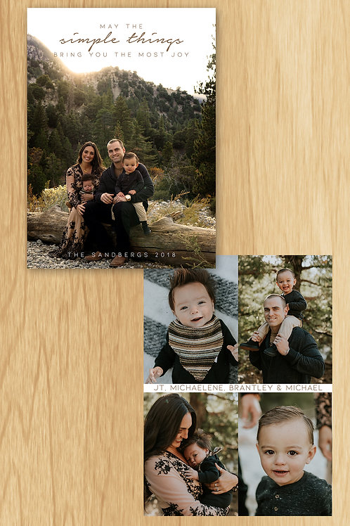 Adventure Family Holiday Card