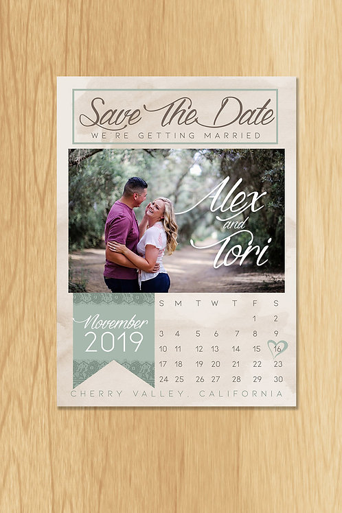 Tori- Save The Date