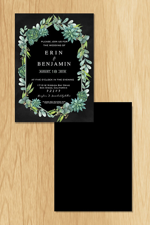 Erin - Wedding Invite