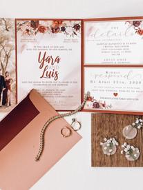 All In One Wedding Invite
