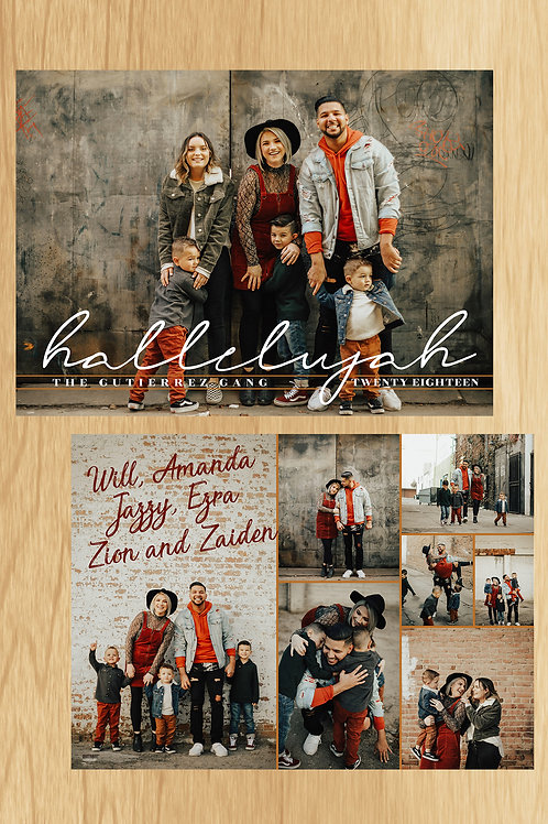 Hallelujah Holiday Card