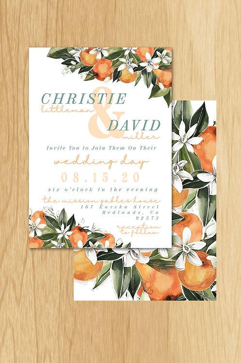 Christie - Wedding Invite