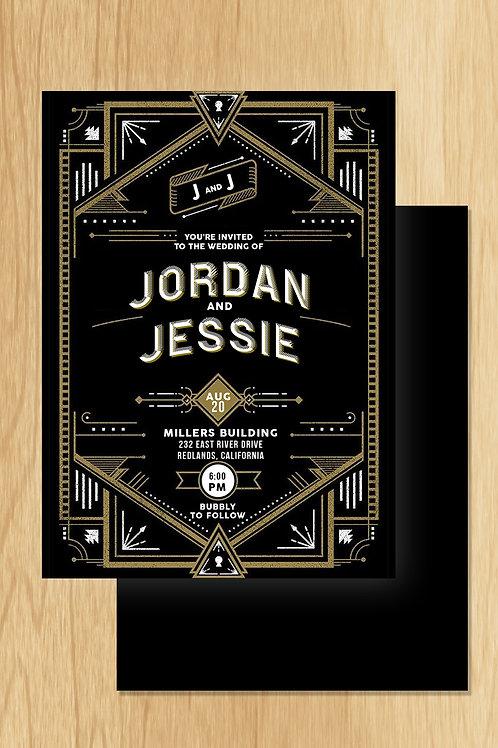 Jordan- Wedding Invite