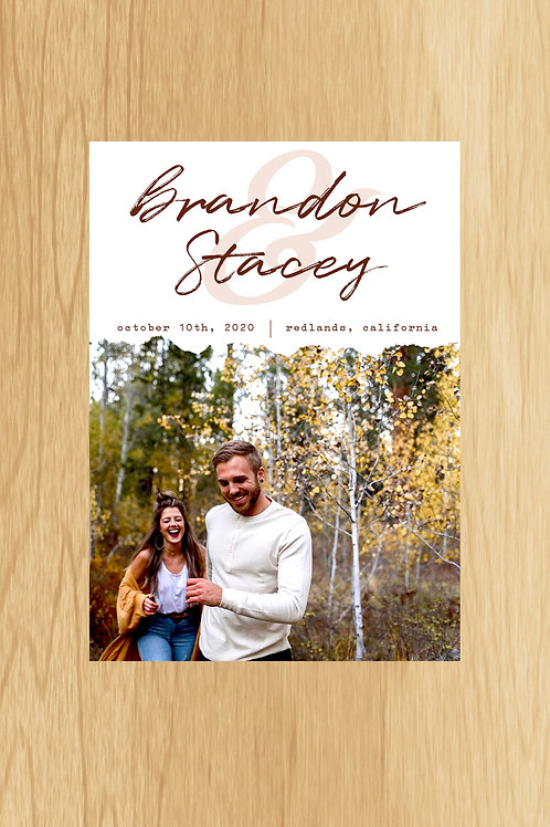 Stacey- Save The Date
