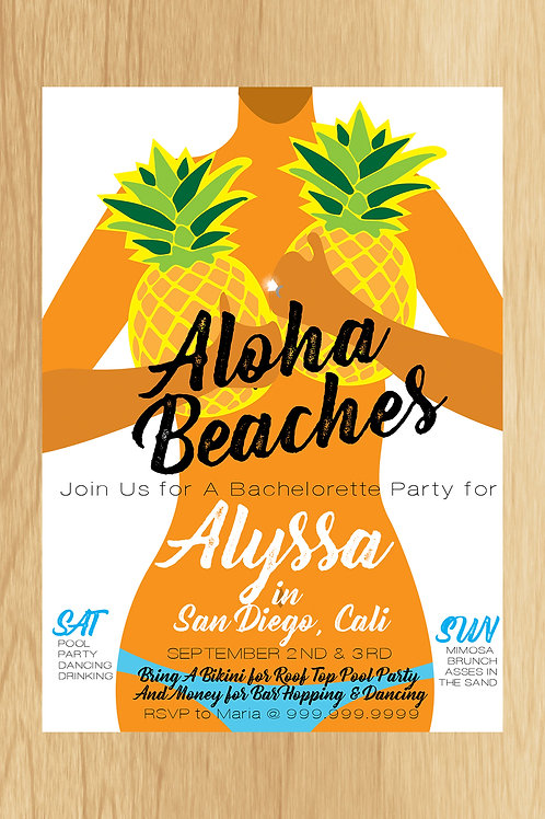 Alyssa - Bach Party