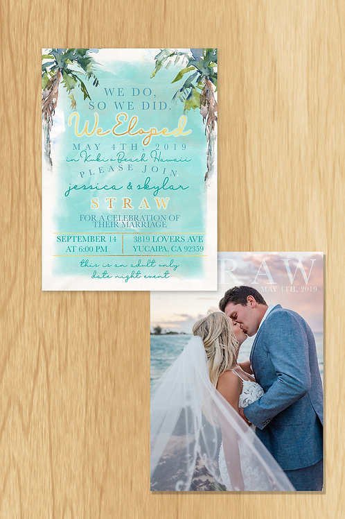 Skylar- Wedding Invite