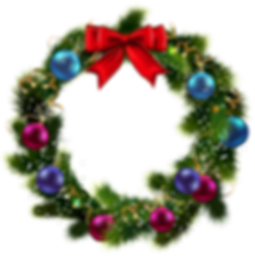 kissclipart-transparent-christmas-wreath