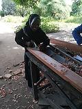 Malawi, female carpenter, carpentry training, carpentry business start-up