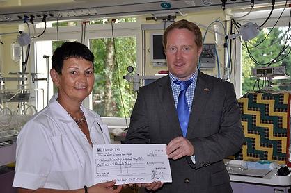 Vilnius University Children's Hospital Natalya's Fund Stephen Conlon